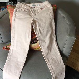 Calvin Klein, size 26, skinny crop jeans
